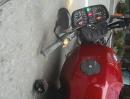 Motorrad Auffahrunfall: Dumm in die Gegend gekuckt, Schreckbremsung und auf den Appel gelegt