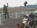 """Motorrad """"Aus"""" per Fernbedienung"""