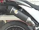 Motorrad Auspuffanlage LeoVince SBK Slip-ons für Honda XL700V Transalp