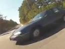 Motorrad Beinah Crash: Wenn die Eier zum bremsen fehlen wirds eng ...
