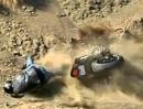 Motorrad Crash: Aufgesetzt, aufgemacht, Dreck gefressen Snake R6 Opfer