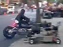 Motorrad Crash bei Dreharbeiten - DAS stand so nicht im Drehbuch!
