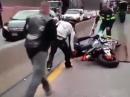 Motorrad Crash bei Sicherstellung durch Polizei - wer zahlt?