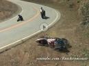 """Motorrad Crash: Buell 1125R """"Stars & Stripes"""" - die hat ein paar """"Stars"""" an der Snake gelassen"""