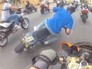 "Motorrad Crash by Trottel: ""Mach mal meine Helmcam an"" *Rofl*"