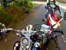 Motorrad Crash: Der Supergau: Zusammenstoß und machtlos zukucken