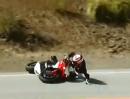Motorrad Crash: Ein Ducati 848 EVO in der Snake unwürdig aufs Plastik gepackt