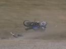 Motorrad Crash: Fahrer OK, Motorrad platt :-( Hockenheim Touristenfahrten