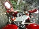 Motorrad Crash Fahrradfahrer im Gegenverkehr = keine Chance
