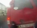 Motorrad Crash. Fliegt Dir´s Auto in Gesicht, liegt´s am bremsen oder nicht!