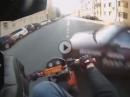 Motorrad Crash: Hier wäre beherztes bremsen besser als hupen gewesen!