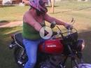 Motorrad Crash: Katie hat die Bremse NOCH nicht gefunden