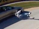 Motorrad Crash: Manchmal hat man Pech und dann kommt Glück dazu
