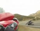 Motorrad Crash: Nicht schnell, kaum Schräglage und trotzdem in den Dreck - wie geht das?