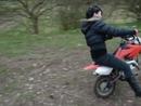 """Motorrad Crash: Schatzi ich sagte """"Langsaaaammm Gas geben Hase"""""""
