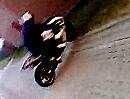 Motorrad Crash: Slicks und kalt - das knallt - Ohhh Junge