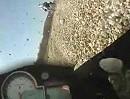 Motorrad Crash: Wenn sich Fahrer mit unterschiedlichen Bremspunkten treffen