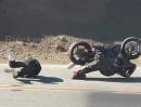 Selbstheilung Motorrad Crash - Reverse Snake slowmo Wenn das nur ginge!