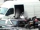Motorrad-Diebstahl am Tag, in der Stadt, 12 Sekunden - unglaublich dreist