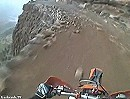 Motorrad Enduro Extrem: Höhenangst? Adrenalin pur: wer hier fällt, fällt tief. Marokko, Atlasgebirge