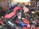 Motorrad Ergonomie: Fahrerausstattung, Lenker, Hebel, Sitzbank, Fußrasten von MotoTech