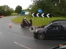 Motorrad Fahranfänger: Führerschein bestanden, lenken müssen wir nochmal bei.