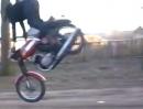 Motorrad Freestyle Crash - Mörder Rampe, mörder Fahrer - dumm jeloofen