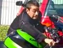 Motorrad funny Crash: Ein Bike ist nicht zum schieben da, valeri und valera