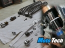 Motorrad Gabel: Umbau, Optimierung, Service - Fahrwerksumbau Tutorial by MotoTech