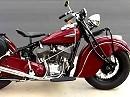 Motorrad Indian Chief Baujahr 1941 perfekt restauriert