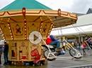 Motorrad Karussell - Kann man so machen, selbst fahren ist besser