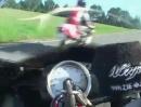 Motorrad Linksabbieger - puhhhhhh - knapp vorbei mit 140km/h