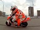 Motorrad Nachwuchs: Tima Kuleshov, 4 Jahre alt, seit 2 Jahren auf dem Motorrad - Kindertraum?