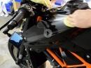 Motorrad polieren - aber richtig - in 10 Schritten (Vorbereitung, Politur, Versiegelung)