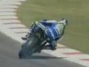 Motorrad Powerslide - Sete Gibernau (500ccm-WM) markiert sein Revier - yesssss