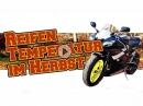 Motorrad im Herbst: Reifentemperatur? Reifendruck? Gripverlust? von ChainBrothers