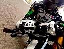 Motorrad Renntraining - Ohrläppchenschleifen Hammer Video - reinziehen!