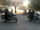 Motorrad Schwarzwaldtour Abfahrt zur Jahresabschlußtour 2011