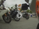 Motorrad Seitenständer vergessen,Crash: SO fängt jede Tour beschissen an!