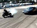 Motorrad Show: Drifts, Stuntriding und coole Mucke - geht mächtig vorwärts!!