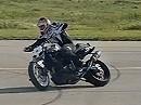 Motorrad Slowmotion Stunt (Drift) - coole Aufnahme