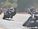 """Motorrad Streetracing: Aufzünden der normale Wahsinn auf der """"The Snake"""""""