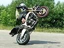 Motorrad Stunt: Virginijus Zukauskas Slow Motion sehr coole Idee - hat was!