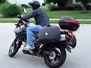 Motorrad Sturz Anfängerfehler: Flammneue VStrom mit Kratzern versehen