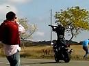 Motorrad Tontaubenschießen - es gibt nix, was es nicht gibt
