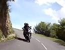 Motorrad Tour de France: Vom Col d'Aubisque zum Col de Soulor (D 918)