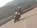 Motorrad Tour Sardinen: Kurven attackieren auf der Via Rosso - schwindelig fahren.