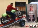 Motorrad Trailer klappbar - genial aber arg teuer von Ozi Concept