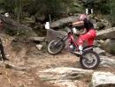 Motorrad Trial Retz im August 2012