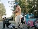 Polizeikontrolle Motorrad Rocker vs Motorroller - Geiler Spot